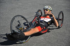Pieter du Preez, quadriplegic athlete, prepares for the Isuzu IRONMAN World Championships taking place in Port Elizabeth this coming weekend.