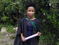 Babalwa Pendlani is one of many young women whose horizons have broadened thanks to Engen.