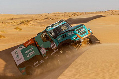 De Rooy Team Going for Gold in the 2019 Dakar Rally on Goodyear Truck Tyres