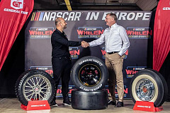 Jerome Galpin (NASCAR President:CEO) and Guy Frobisher (Senior Project Manager Continental).