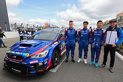 2018 Subaru global motorsport outline