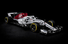 The Alfa Romeo Sauber F1 Team reveals the C37