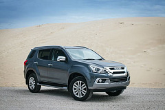Isuzu mu-X destined for Sub-Saharan Africa