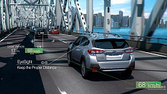 Subaru's EyeSight Driver Assist System Wins President's Award of Japan Techno-Economics Society