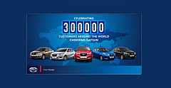 Datsun globally marks important milestone of 300 000 Datsun cars sold