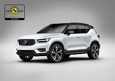 European Car of the Year Volvo XC40 receives five star rating in Euro NCAP assessment