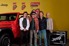 Jeep® Wrangler, sponsor of the Rolling Stones No Filter Tour, in Warsaw for tour finale