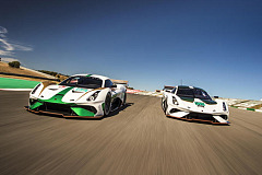 Brabham BT62 roars into global public debut at Goodwood