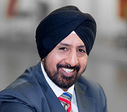 Sarabdeep Hanspal, Chief Operating Officer for KLT South Africa