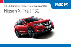 SKF Product Information - Nissan X-Trail T32
