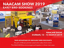 NAACAM Show 2019 - Book Now, Save & Take Advantage of Early Bird Discounts
