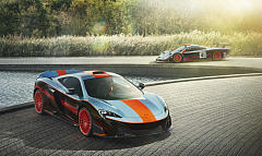 McLaren special operations recreates legendary McLaren F1 GTR 'Longtail' racing livery for bespoke commission 675lt