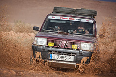Panda Raid 2018: Unstoppable Fiat Panda conquers the desert