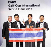 BMW Golf Cup International: Team Thailand defends title at the World Final – Guest of honour Gary Player tops off unforgettable week in South Africa.