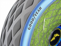 Goodyear Unveils Oxygene, a Concept Tyre Designed to Support Cleaner and More Convenient Urban Mobility