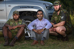 Goodyear Wranglers keep anti-poaching vehicles on track