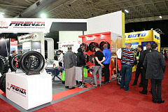 Stamford Tyres - New tyres and wheels on show at Tyrexpo Africa