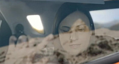 vibrations from image projected onto car window enable blind passengers to Feel The View