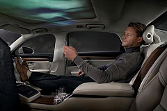 The Volvo S90 Ambience Concept - a car that connects with your senses