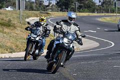 On location images: The new BMW F 750 GS and the new BMW F 850 GS in Cape Town.