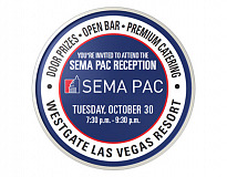 Headed to the SEMA Show? Support Motorsports at the SEMA PAC Reception