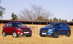 Two Hyundai SUVs get fresh new look, new gearboxes, and changed line-up