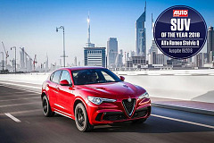 Alfa Romeo Stelvio Quadrifoglio is 'SUV of the Year 2018' for 'Auto Zeitung'
