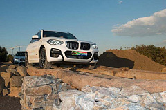"The BMW X3 embarks on a mission to ""explore"" its home turf"