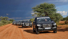 BMW Driving Experience South Africa offers Namibia Multiday Tours in BMW X3s built at BMW Group Plant Rosslyn.