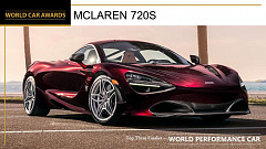 2019 World Car Awards and now there is one…… McLaren 720S – 2019 World Performance Car