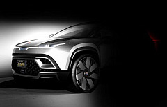 Never-before-seen design image of Fisker's affordable, all-electric luxury SUV – set for launch in 2021