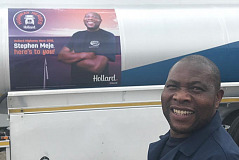 When Elegant empowers, people – such as Hollard Highway Hero Stephen Meje – win