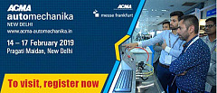 India's leading aftermarket trade fair is only a month away. Register now.