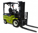 The electric four-wheel forklift trucks EPX20i-32i can take on a combustion version, both in performance and procurement costs
