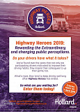 Your driver could be the next Hollard Highway Hero!!!