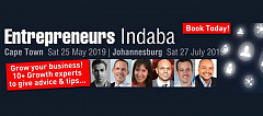 Business Owner - Attend Entrepreneurs Indaba - Sat 25 May - Cape Town