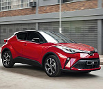 Toyota's C-HR Cross-Over gets a nip 'n tuck