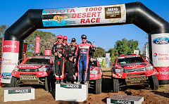Past five years has seen significant milestones for Toyota Kalahari Botswana 1000 desert race