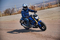 On Location Pictures: BMW Motorrad Novice Rider Training event